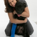 Ricoh with veterinary surgeon Michelle Smith2