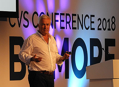 Simon Innes, CVS Group plc CEO speaking at CVS Conference 2018