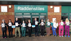 CVS 100th Practice Award at Raddenstiles Vets
