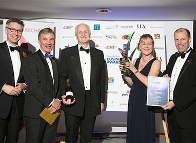 CVS Group wins Top 100 Accelerator at the EDP Business Awards