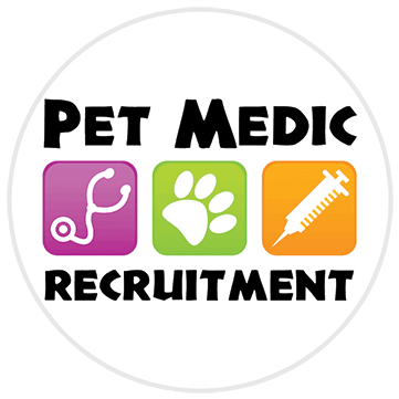 Pet Medic Recruitment logo