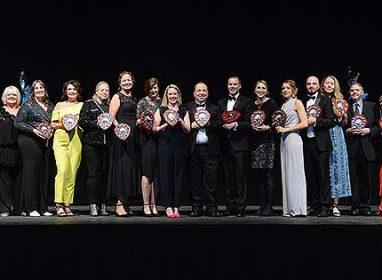 CVS Award winners 2019